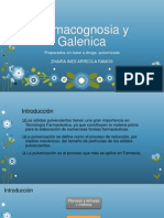 Farmacognosia y Galenica