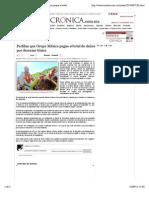 17-09-14 La Crónica de Hoy _ Perfilan que Grupo México pague el total de daños por derrame tóxico