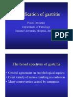 Classification Des Gastrites