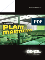 L`Oreal operations - plant maintenance