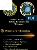 FBI Analysis on PA Police Shootout