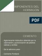 Componentes Del Hormigón