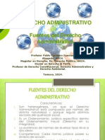Fuentes del Derecho Administrativo DA II.ppt