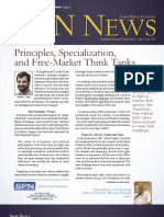 Principles, Specialization, and Free-Market Think Tanks