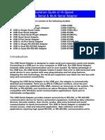 USB Serial Adapter Manual