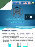 1. Circuitos Eléctricos. Magnitudes
