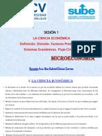 Microeconomía - Sesión (1)