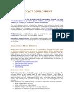 Media Advocacy Development