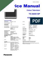 Panasonic Tx29ak10p Euro 5 Chassis
