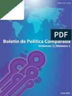 Boletín de Política Comparada Volumen 3 Nº1