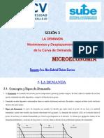 Microeconomía - Sesión (3)