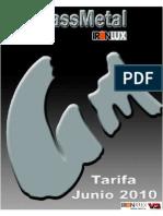 Tarifa 2010