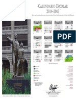 calendario oficial 2014-2015