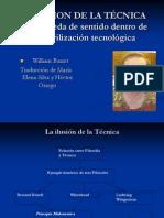LA ILUSION DE LA TÉCNICA.ppt