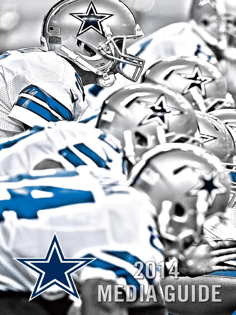 7a8d6c59c Dallas Cowboys 2014 Media Guide