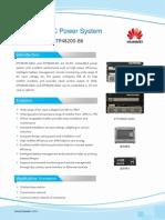 Huawei Embedded Power System ETP48200-A6A1 B6 DataSheet