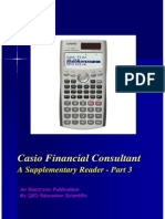 Casio Financial Consultant a Supplementary Reader ( Part 3 )