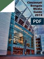 Cincinnati Bengals 2014 Media Guide