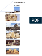 Principales Construcciones Mayas