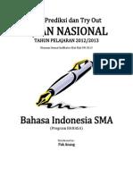 Prediksi Soal UN Bahasa Indonesia SMA Program BAHASA 2013