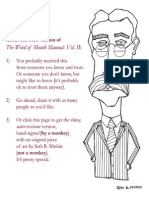 The Word of Mouth Manual Volume II
