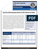 Fiscal Stress Report 2013