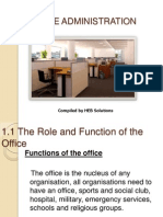 office orientation - unit 1