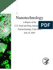 Nanotechnology  FDA report, 2007