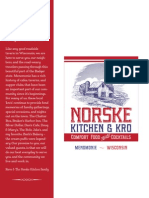 Norske Kitchen Lunch & Dinner Menu