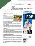 Dog Approved People Food | Cesar Millan