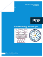 U S  Environmental Protection Agency, Nanotechnology White Paper