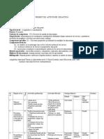 Proiect Didactic Clasa X-Servirea preparatelor din peste