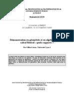 ArsacD05I Demonstration en Algebre Et en Geometrie