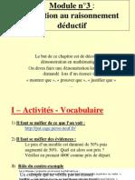 Cours_demonstration_ Initiation Au Raisonnement Déductif