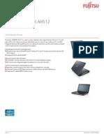 Ds Lifebook Ah512