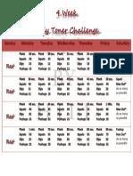 body toner challenge