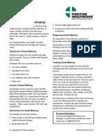 Facial Wasting Health Info Fact Sheet AHCA 090109 Form 216.0