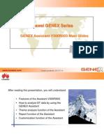 GENEX Assistant Customer Training Slide