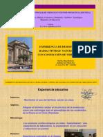 HUGO MARTIN ATOMICA CORDOBA DIAPOSITIVAS EXPERIMENTO RADIACTIVIDAD NATURAL CON CON CONFECCION DE VIDEO
