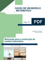 6 - Construcao de Um Modelo Matematico