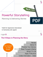 Powerful Storytelling