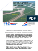 01a Binational Water Management in the Lower Pilcomayo Basin VARGAS