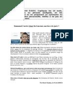 Emmanuel Carrère évincé du Goncourt + corrigé