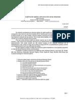 C29 Estructura Óptima de Capital y Estructura de Varias Empresas