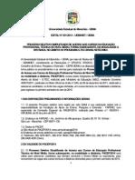 Castro Digital Edital Pacep 2014 Cursos Tecnicos UemaNet