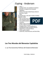 The Three Worlds of Welfare Capitalism PRESENTACIÓN FINAL