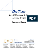 DigiTrak Mark III Directional Drilling Locating System