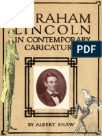 Abraham Lincoln in Contemporary Caricature (1904)