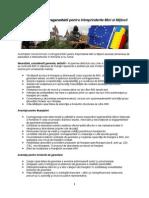 Avantajele mecanismului contragarantării pentru Intrprinderile Mici si Mijlocii