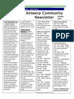 October Newsletter2014 (2)